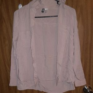 Dusty Rose button up